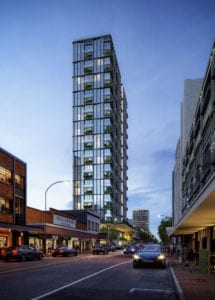 Brunswick proposed Residential and Hotel tower