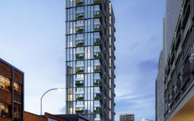 Brunswick Street will become an aesthetic hub for a residential and hotel tower
