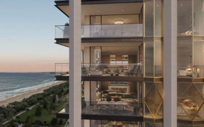$158 million apartment building featuring 28 residential floors